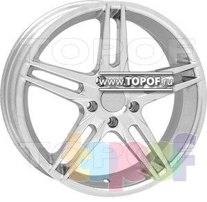 Колесные диски American Racing Split 159 (полированный). Изображение модели #1