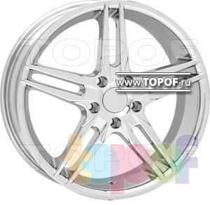 Колесные диски American Racing Split 659 (хром). Изображение модели #1