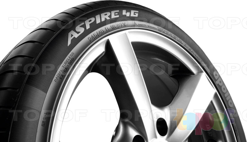 Шины Apollo Tyres Aspire 4G. Изображение модели #4