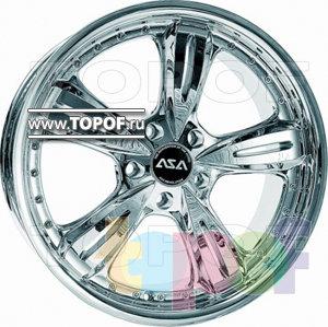 Колесные диски ASA AR4. Изображение модели #2