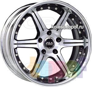 Колесные диски ASA BS1. Изображение модели #1