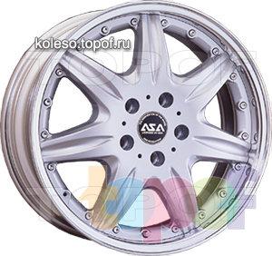 Колесные диски ASA BS4. Изображение модели #1