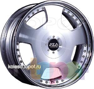 Колесные диски ASA DD1. Изображение модели #1