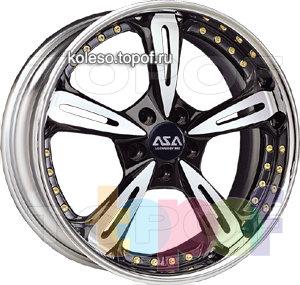 Колесные диски ASA DS3. Изображение модели #1