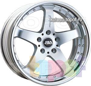 Колесные диски ASA FR5. Изображение модели #1
