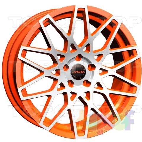 Колесные диски ASA GT4. Изображение модели #1