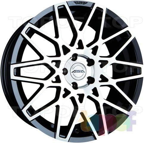 Колесные диски ASA GT4. Изображение модели #2
