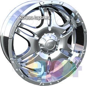 Колесные диски ASA HM2. Изображение модели #1