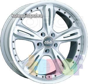 Колесные диски ASA JH4. Изображение модели #1