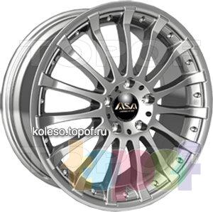 Колесные диски ASA JH5. Изображение модели #1