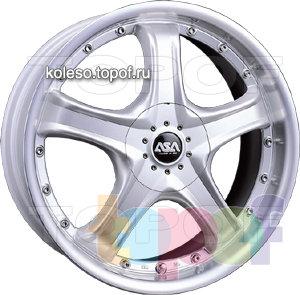 Колесные диски ASA JS5. Изображение модели #1