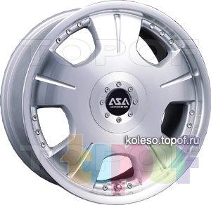 Колесные диски ASA JS8. Изображение модели #1
