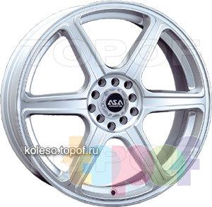 Колесные диски ASA TR4. Изображение модели #1
