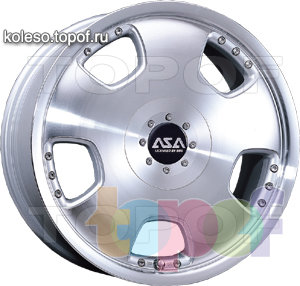 Колесные диски ASA US5. Изображение модели #1