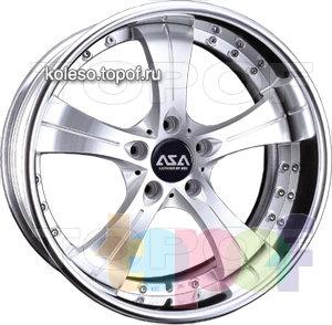 Колесные диски ASA W24. Изображение модели #1