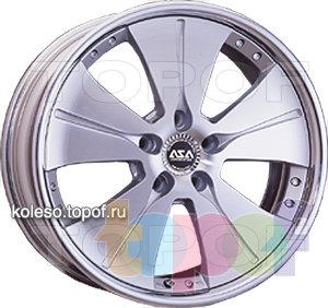 Колесные диски ASA W25. Изображение модели #1