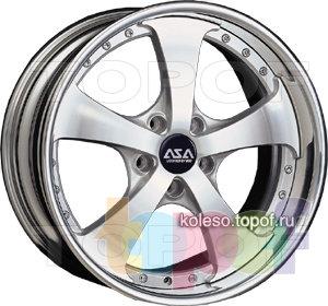 Колесные диски ASA W31. Изображение модели #1