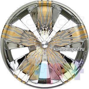 Колесные диски Asanti Zebra. Изображение модели #2