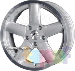 Колесные диски ASW X-Rad. Изображение модели #1