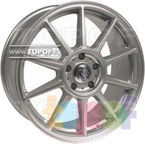 Колесные диски ATP 10 Razze Super Silver. Изображение модели #1