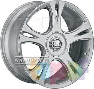 Колесные диски ATP Magnum Silver. Изображение модели #1