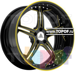 Колесные диски Auto Couture Insignia (желтый). Изображение модели #1