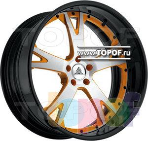 Колесные диски Auto Couture Tension 5 (оранжевый). Изображение модели #1