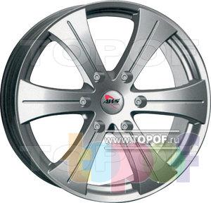 Колесные диски AWS America 6. Изображение модели #1