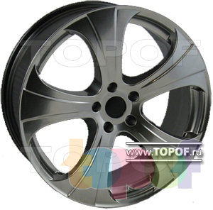 Колесные диски AZ Karisma 2. Изображение модели #1