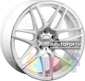 Колесные диски BBS CX-R (белый). Изображение модели #1