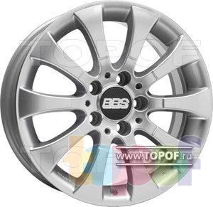 Колесные диски BBS W2. Изображение модели #1