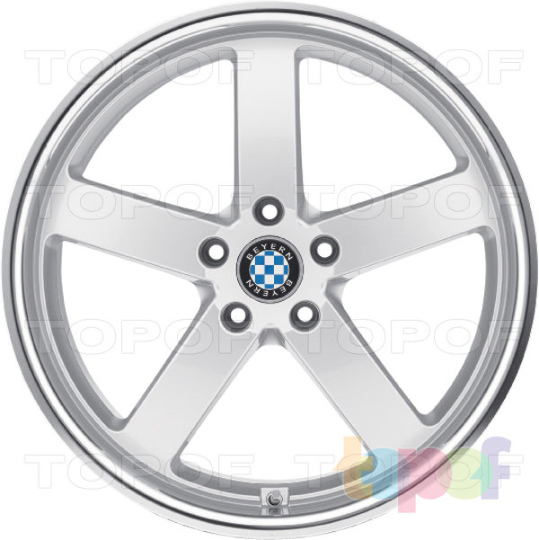 Колесные диски Beyern Rapp. Серебряное покрытие