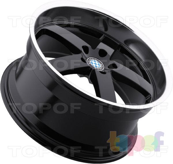 Колесные диски Beyern Rapp. Черное исполнение