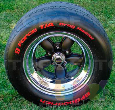Шины BFGoodrich G-Force T/A Drag Radial 2. Изображение модели #4