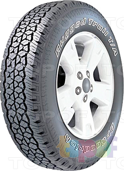 Шины BFGoodrich Rugged Trail T/A. Изображение модели #1
