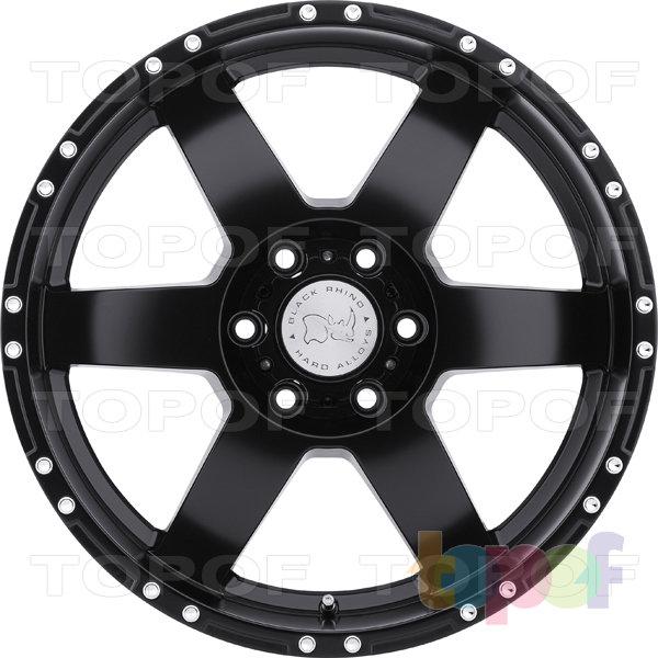 Колесные диски Black Rhino Arcos. Изображение модели #2