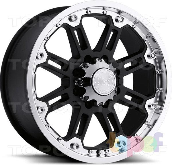 Колесные диски Black Rhino Glossblack. Изображение модели #1
