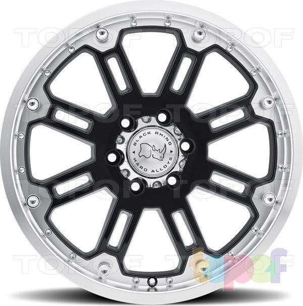 Колесные диски Black Rhino Glossblack. Изображение модели #2