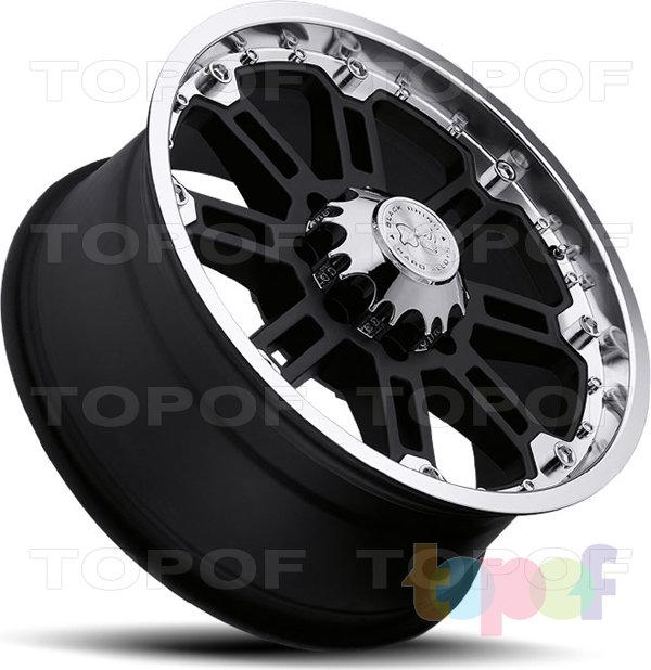 Колесные диски Black Rhino Glossblack. Изображение модели #3