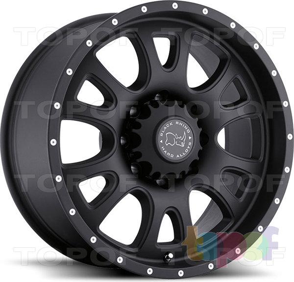 Колесные диски Black Rhino Lucerne. Изображение модели #2