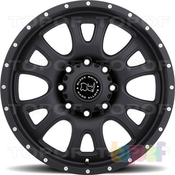 Колесные диски Black Rhino Lucerne. Изображение модели #4