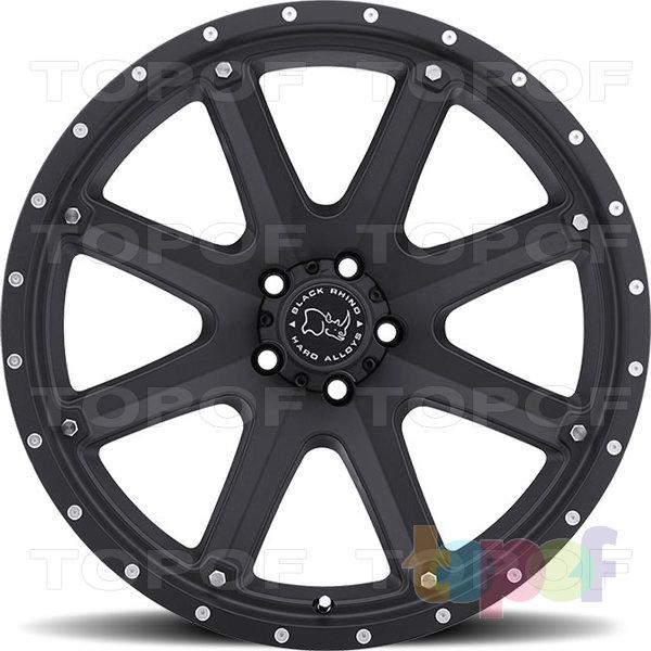 Колесные диски Black Rhino Moab. Изображение модели #2