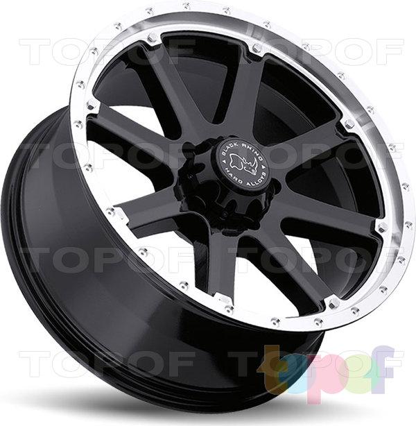 Колесные диски Black Rhino Moab. Изображение модели #3