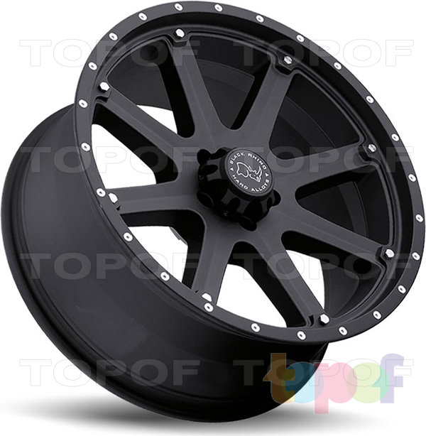 Колесные диски Black Rhino Moab. Изображение модели #4