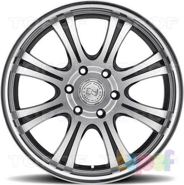 Колесные диски Black Rhino Sabi. Изображение модели #3