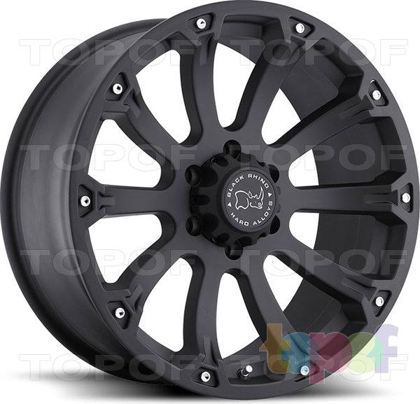 Колесные диски Black Rhino SideWinder. Изображение модели #1