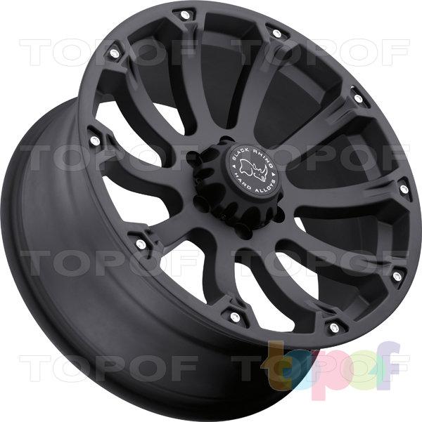 Колесные диски Black Rhino SideWinder. Изображение модели #3