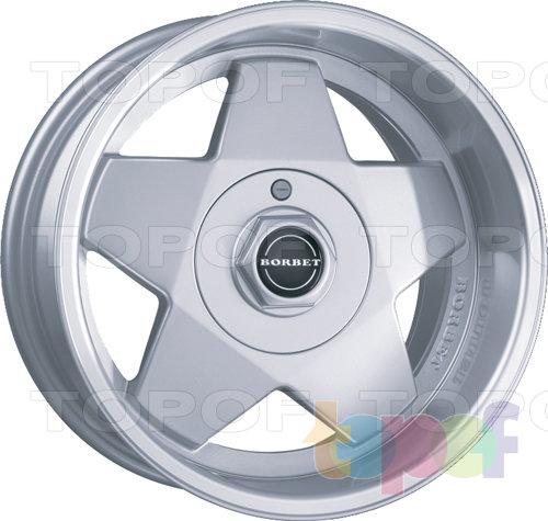 Колесные диски Borbet A. Изображение модели #1