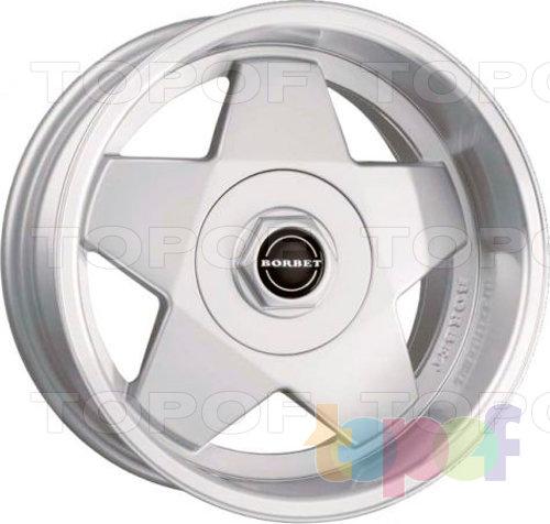 Колесные диски Borbet A2. Изображение модели #1