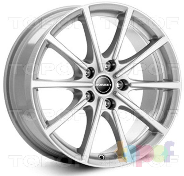 Колесные диски Borbet BL5. Цвет колесного диска - Silver (Серебристый)